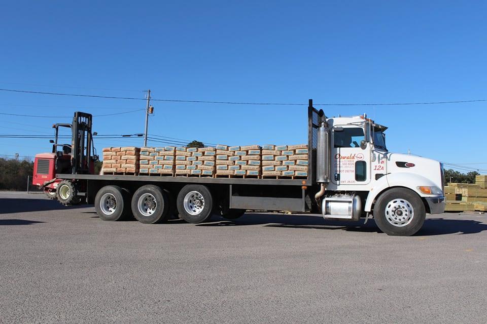 Oswald Lumber - Truck